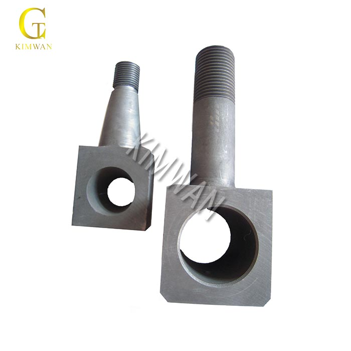 High temperature furnace heating and structural graphite parts
