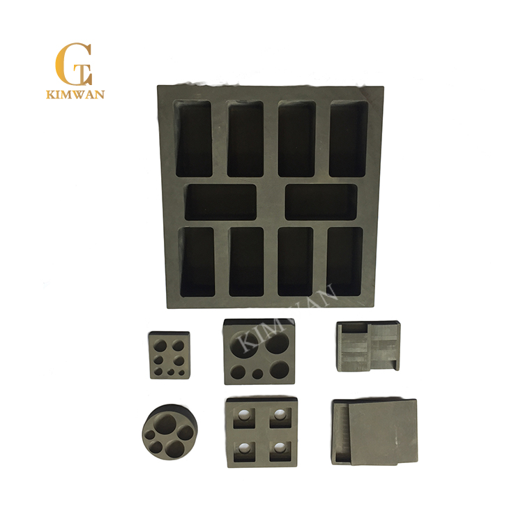 Sintered graphite mold